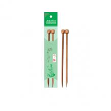 ChiaoGoo Спицы прямые бамбуковые темные 33 см