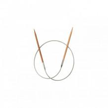 ChiaoGoo спицы бамбуковые 40 см круговые укороченные
