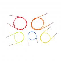 KnitPro Colored Cables Тросик для съемных спиц
