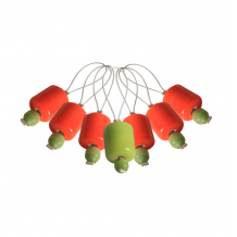 KnitPro Маркер для вязания Orange Lily Оранжевая лилия, 7 шт.
