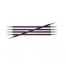 KnitPro Zing спицы чулочные 15 см