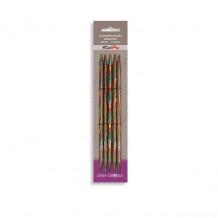 Lana Grossa разноцветные чулочные спицы 15 см