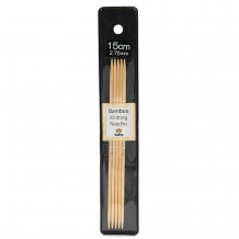 Tulip Bamboo Спицы чулочные 15см