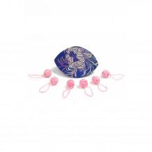 HiyaHiya Набор маркеров Pink Yarn Ball в кейсе, 6 шт.