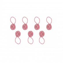 HiyaHiya Маркеры для вязания Pink Yarn Ball, 6 шт.