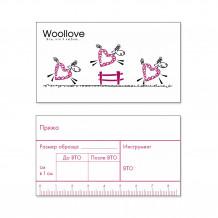 Woollove Карточки для образцов, 10 шт.