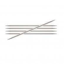 KnitPro Nova Metal спицы чулочные 15 см