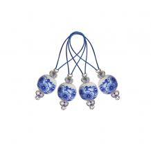 KnitPro Маркер для вязания Blooming Blue Синее цветение, 12 шт.