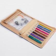 KnitPro Zing  Special Interchangeable Needle Set набор укороченных съемных спиц