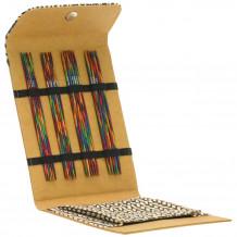 Lana Grossa Design-Wood Color Sock Brown Набор спиц