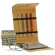 Lana Grossa Design-Wood Signal Small Brown Набор спиц