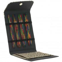 Lana Grossa Design-Wood Color Sock Black Набор спиц