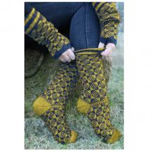 Описание для вязания носков Regia Merino Yak