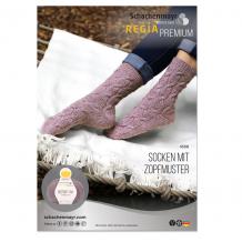 Описание для вязания носков Regia Merino Yak 3